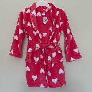 The Children's Place Heart Soft Robe Girls